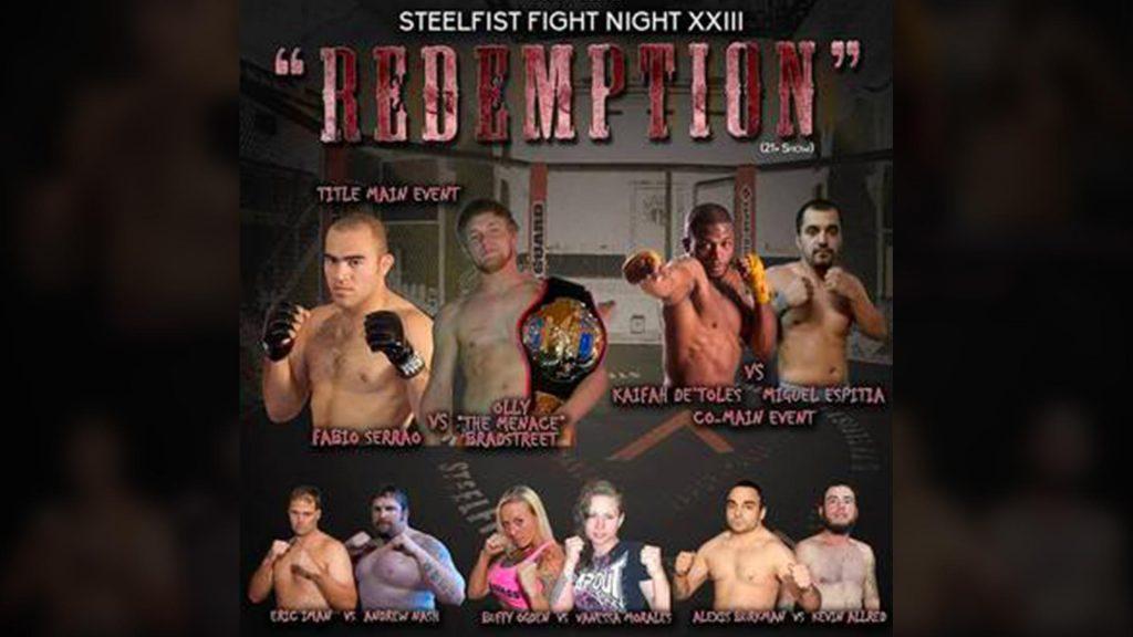Steelfist 23: Redemption