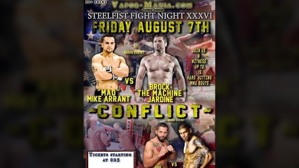 Steelfist 36: Conflict